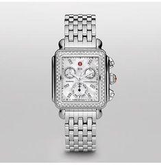 Signature Deco Diamond, Diamond Dial Watch