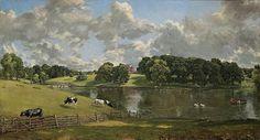 John Constable Wivenhoe Park Essex Painting 1816