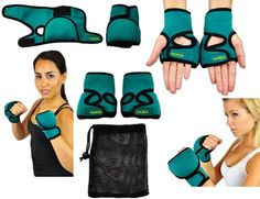 Nayoya Weighted Gloves - 1 Pound Each Glove for Sculpting MMA Cardio Aerobics Hand Speed Coordination Shoulder Strength and Kickboxing Nayoya Wellness Cardiovascular Activities, Martial Arts Gear, Workout Regimen, Yoga For Beginners, Aerobics, Kickboxing, Workout Gear, How To Lose Weight Fast, Mma