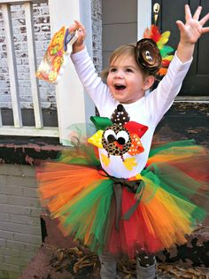 Tutus Thanksgiving tutu/ turkey onesie/turkey by carolinesboutique, $64.50