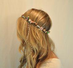 Mermaid Headdress Sea Goddess Crown by ShepherdoftheSea on Etsy, $69.00
