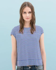 Striped Liesl and Co Bento Tee inspiration.