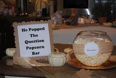 Popcorn bar scallopp