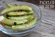 from cucina kristina pickled sugar snap peas pickled sugar snap peas ...