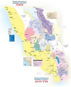 sonoma valley map | Copyright 2010 101 Things To Do Magazine
