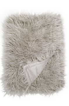 Nordstrom fur blanket throw