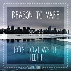 Bon Jovi white Teeth