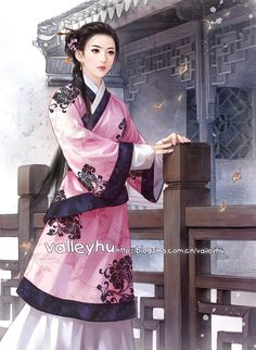 fu gui rong hua 5 by valleyhu.deviantart.com on @DeviantArt