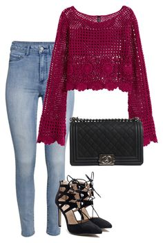 """""""Outfit #415"""" by naleland on Polyvore featuring moda, H&M i Chanel"""