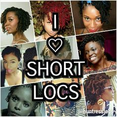 PSA for a loc'd newbies. Your locs are gorgeous! This isn't said enough.  While long locs are gorgeous, it's important to remember that short/shorter locs are just as amazing. Short locs are light, soft and hold tights curls until washed. I loved my short locs as much as I love my current length locs. I hope all the newbies out there are appreciating the beauty of their short locs and not focusing on long locs. #locs #sisterlocks #shortlocs