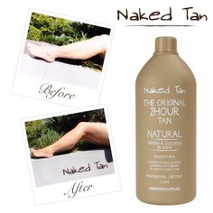 TAN TIP TUESDAY!  Get a light and natural glow! If you have a very pale to fair skin type and want a very natural, subtle glow the Naked Tan Natural solution is for you! Naked Tan also recommends this shade to be used on brides before their big day in order to make them look glowing and radiant!