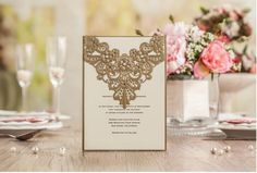Wedding Invitations Hollow Flower Laser Cut Greeting Cards Free Design And Printing Via Dhl Shipping Free Cw5139 New Style Christian Wedding Invitations Couples Wedding Shower Invitations From Wedding1818, $0.89| Dhgate.Com