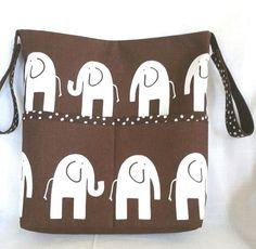 Elephant Stroller/Wheelchair/Walker/Tote by GrandmaAndBabyTurtle, $40.00
