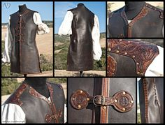 Celtic Armor by *Adhras on deviantART