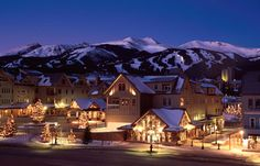 Breckenridge, CO - This was our most anticipated resort, and it was the resort most resented by the locals. It was a great mountain, great little town at the base - this was my first west-coast (well kinda) ski trip - the quality of snow, length of trails and awe of the Rockies was absolutely amazing.