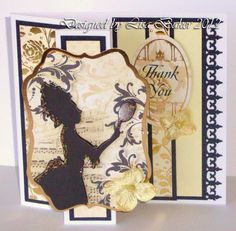 Cardmaking. A card made using the Kensington Collection from Kanban. Available from my website: http://www.lisabdesigns.co.uk/kanban-crafts-kensington-c-47_114_119.html