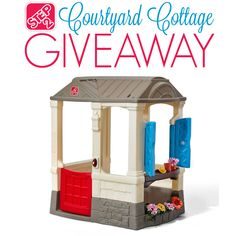 Brand new from Step2! Just in time for the holidays, check out the Step2 Courtyard Cottage and enter to win it before you can buy it!