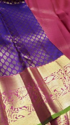 Exclusive kanchi silk sarees collection for this wedding season .thsese are the hand weved sarees with d...