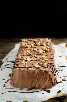 Eggless Chocolate Biscuit Pudding (No Bake Chocolate Cookie Cake) - An easy…