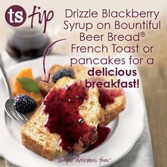 Blackberry Syrup | Tastefully Simple | This delicious syrup with the ...