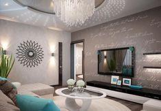 grau und taupe Farben als Hintergrund für die türkisblauen Dekorationen