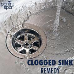 Best 25 Unclog Sink Ideas On Pinterest Unclogging Sink