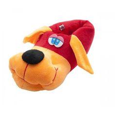 Kırmızı Renkli Köpekler Çocuk pandufları / TWIGY