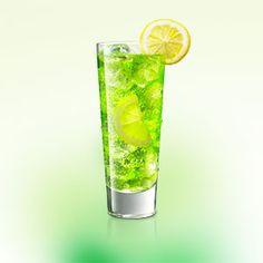 1c29c38a76e04 MIDORI Lemon-Lime Soda   MIDORI Lemonade is an easy to make cocktail using  MIDORI.