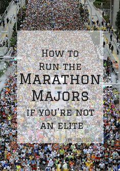Marathon Major - how