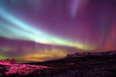 Aurora Borealis - Northern Lights by Gunnsi, via Flickr