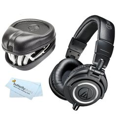 Audio-Technica ATH-M50x Professional Studio Monitor Headphones - Feature