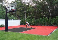 Basketball Courts Dunkstar Diy Basketball Courts Home Basketball Court Basketball Court Backyard Outdoor Basketball Court