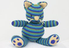 Cathy Cat Toy By Heather Granger - Free Knitted Pattern With Website Registration - (makeitcoats)