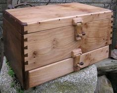 Beautiful wooden box.