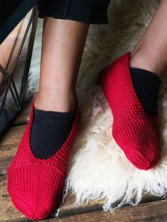 Nordic Yarns and Design since 1928 Knitted Slippers, Knitting Socks, Knit Socks, Mittens, Crochet, Crafts, Shoes, Yarns, Knits