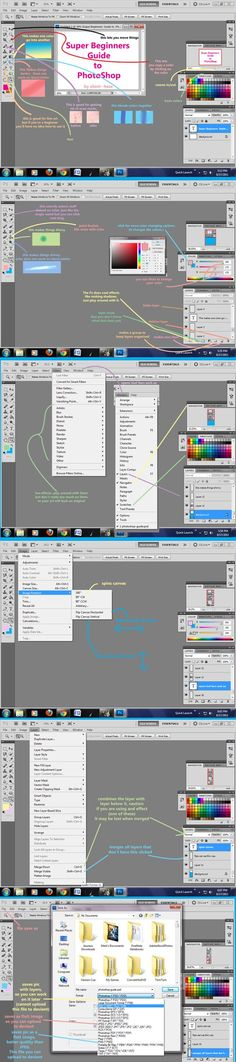 Beginners Guide to Photoshop by ~Silent--Haze on deviantART