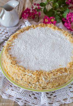 Italian Cake, Italian Desserts, Italian Recipes, Burritos, Torte Cake, Romanian Food, Daily Meals, Wine Recipes, Vanilla Cake