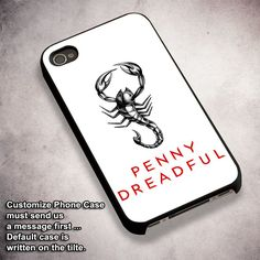 Penny Dreadful The Scorpion - For iPhone 4/ 4S/ 5/ 5S/ 5SE/ 5C/ 6/ 6S/ 6 PLUS/ 6S PLUS/ 7/ 7 PLUS Case And Samsung Galaxy Case