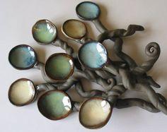 Jabonera cerámica pájaro placa en forma de por BRobertsonPottery