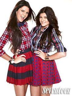 Kendall and Kylie Jenner from Seventeen Magazine (2012)