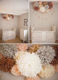 EARTH-TONE NURSERY / 15 Mixed Size by LadiesWhoLunchPoms on Etsy