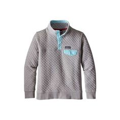 Women's Patagonia Cotton Quilt Snap-T Pullover ($149) ❤ liked on Polyvore featuring tops, holiday shirts, snap button shirts, shirt top, sleeve shirt and sweater pullover