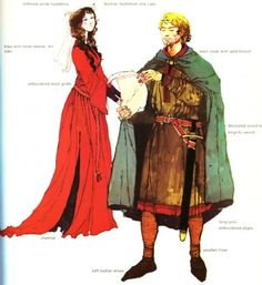 Romanesque garments men and women