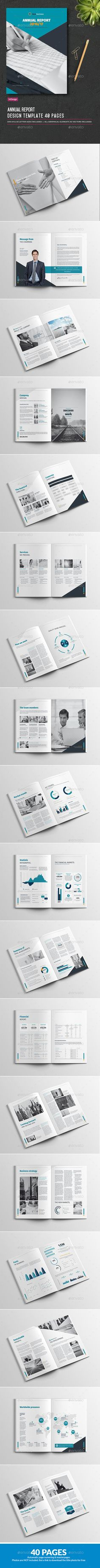 Annual Report 2016/17 Features:Indesign Template for a 40 pages Annual Report. Format DIN A4 and US letter with 3mm / 0.125 inches