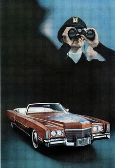 1971 Cadillac Eldorado.