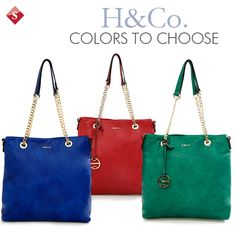 Carteras H&CO #colors #H&co