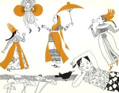 Jacqueline Ayer: Drawing on Thailand | House of Illustration