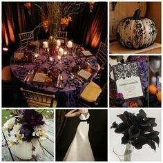 My Halloween wedding ideas so far