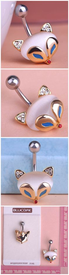 Opal Blue Cat Eye Fire Fox Belly Button Rings Only $11.62  => Save up to 60% and Free Shipping => Order Now! #Ring #Jewelry #woman #fashion  http://www.fancyjewelries.net/product/opal-blue-cat-eye-fire-fox-belly-button-rings/