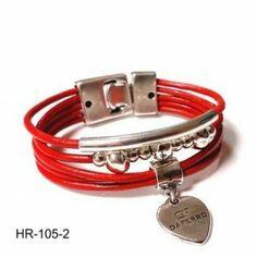 Ideas Para, Bracelets, Jewelry, Fashion, Red Leather, Leather Bracelets, Beading, Necklaces, Ornaments